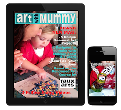 Art with Mummy magazine